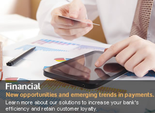 Financial cards and solutions for banks